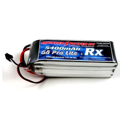 5400 G8 Pro Lite 25c RX Bat